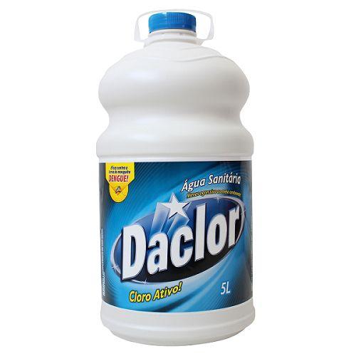 Agua Sanitária Daclor 5 litros