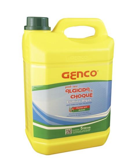 Algicida Genco Choque Pool - Trat 5 litros para piscinas