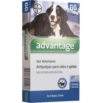 Antipulgas Advantage para Cães e Gatos GG (1 Bisnaga)