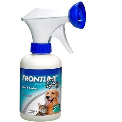 Antipulgas e Carrapatos Frontline Spray 250 mL para Cães e Gatos
