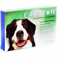 Antipulgas Novartis Capstar 57 mg para Cães acima de 11,4 Kg (1 comprimido individual)