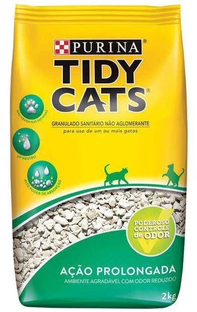 Areia Higiênica Nestlé Purina Tidy Cats para Gatos 2Kg