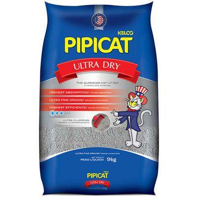 Areia Sanitária Kelco Pipicat Ultra Dry 9K