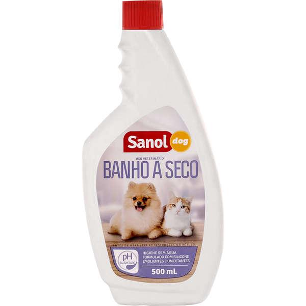 Banho a Seco Sanol 500ml
