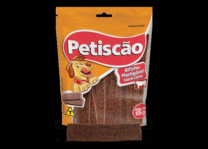 Bifinho Petiscão Petisquinho Carne Tablete 60g