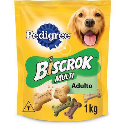 Biscoito Pedigree Biscrok Multi para Cães Adultos 1000kg