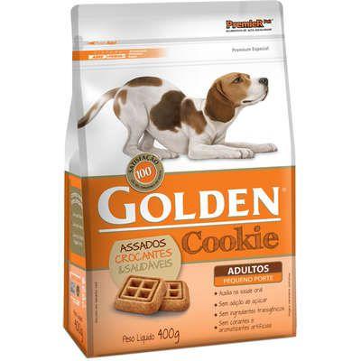 Biscoito Premier Pet Golden Cookie para Cães Adultos Mini Bits 400gr