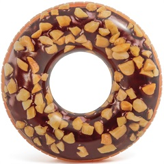 Boia Redonda Dunnuts Chocolate Adulto - Intex