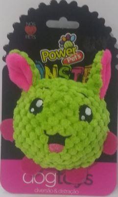 Brinquedo de Pelúcia para Cães Power Pets Monster Verde Médio