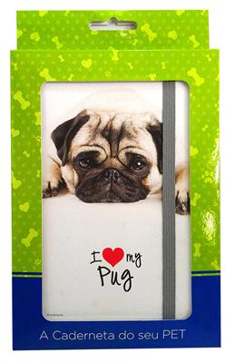 Cãoderneta Pet Pug