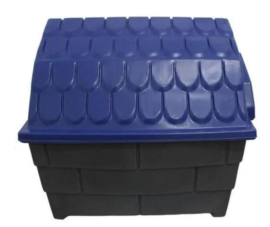 Casa Plastica Muvuca N.0 Azul e Cinza