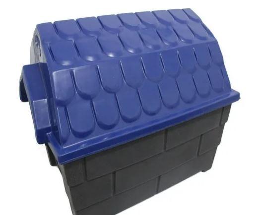 Casa Plastica Muvuca N.2 Azul e Cinza