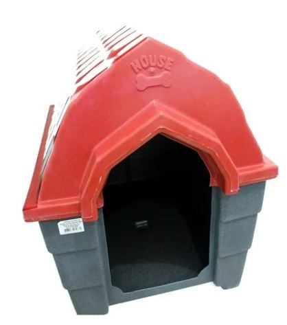 Casa Plastica Muvuca N.5 Vermelha e Cinza