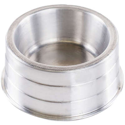 Comedouro de Aluminio Pesado Filhote 350ml