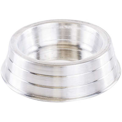 Comedouro de Aluminio Pesado Pequeno 600ML