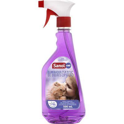 Eliminador de Odores Sanol Cat Gatilho 500 ml