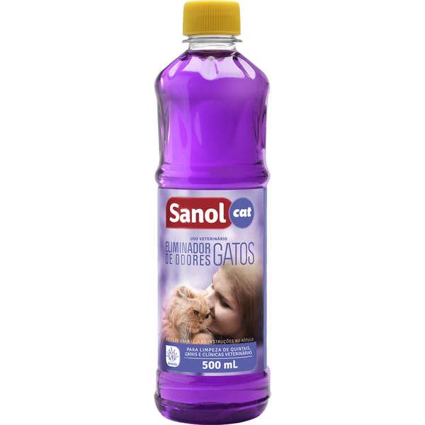 Eliminador de Odores Sanol Cat Sem Gatilho 500 ml