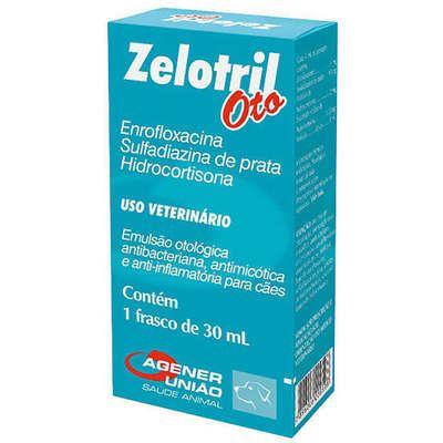 Emulsão Otológica Zelotril Oto Frasco - 30 mL