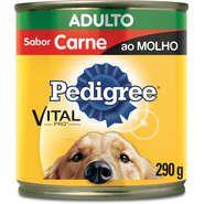 Pedigree Lata Carne ao Molho para Cães Adultos - 290 g