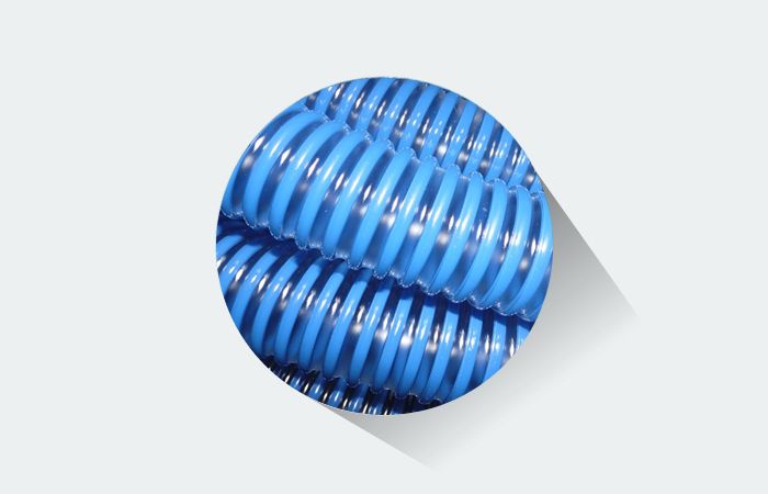 Mangueira para piscina  Fortyflex  38 mm Azul Diamante 8 Metros