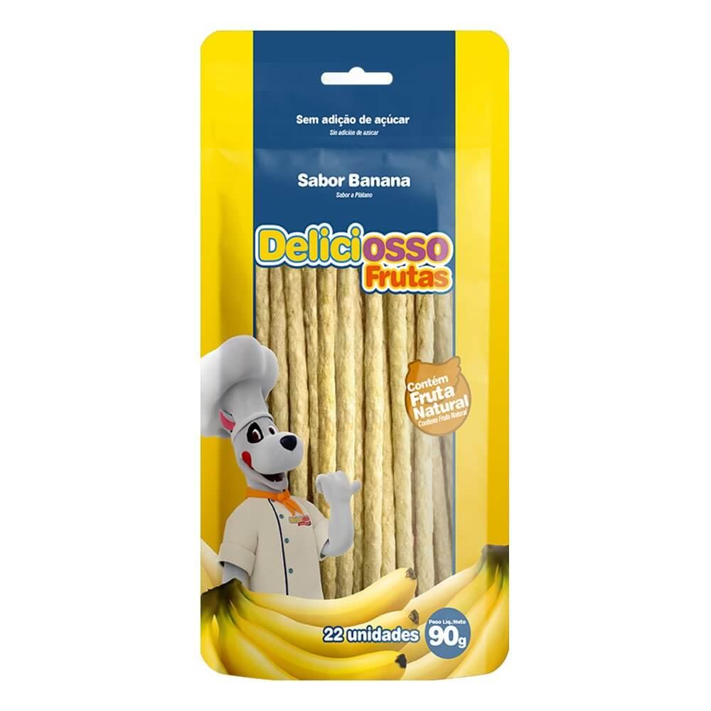 Ossinho XisDog Deliciosso Frutas Banana 90g