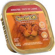 Patê Special Cat Carne para Gatos Adultos 100g