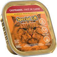 Patê Special Cat Carne para Gatos Castrados 100g