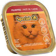 Patê Special Cat Carne para Gatos Filhotes 100g