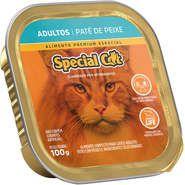 Patê Special Cat Peixe para Gatos Adultos 100g