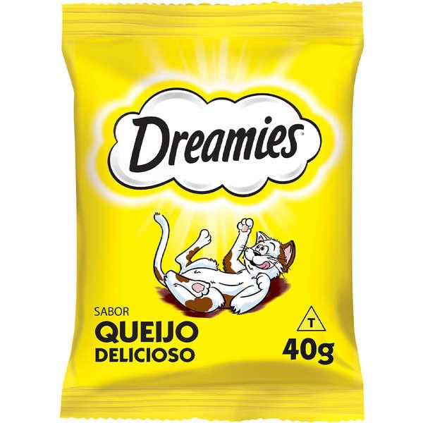 Petisco Dreamies Queijo Para Gatos Adultos 40g