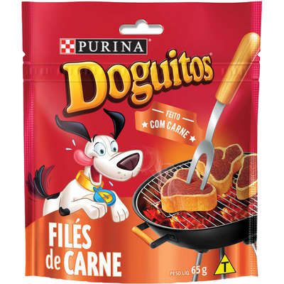 Petisco Nestlé Purina Doguitos Filés de Carne para Cães