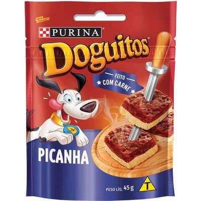 Petisco Nestlé Purina Doguitos Picanha para Cães 45g
