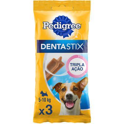 Petisco Pedigree Dentastix Cuidado Oral Para Cães Adultos Raças Pequenas - 3 Unidades