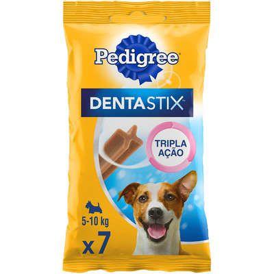 Petisco Pedigree Dentastix Cuidado Oral Para Cães Adultos Raças Pequenas 7 unidades
