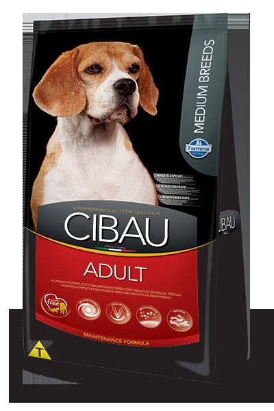 Ração Cibau Medium Breeds para Cães Adultos de Raças Médias 15 k