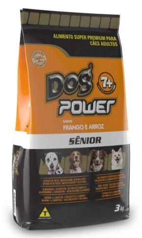 Ração Dog Power Frango e Arroz Sênior (à partir de 7 anos) 3kg