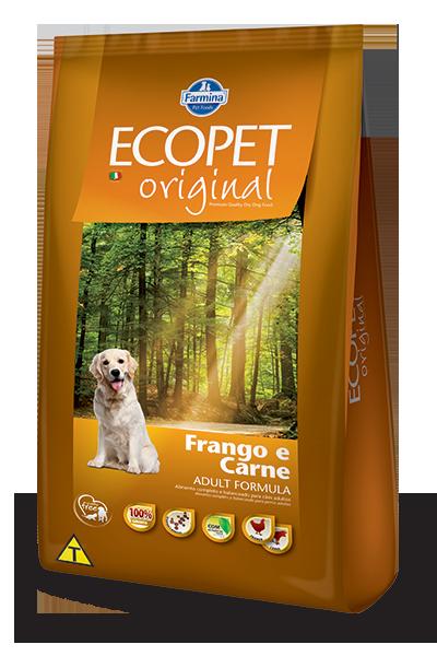 Ração Ecopet Original para cães Adultos 20 k