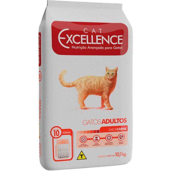 RAÇÃO EXCELLENCE CAT CARNE 10.1 KG