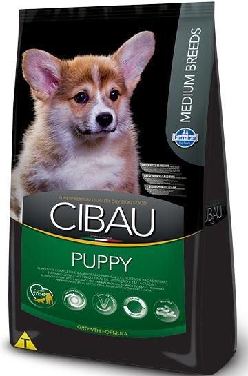 Ração Farmina Cibau Puppy para Cães Filhotes de Raças Médias 15k