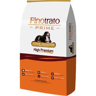 Ração Finotrato Prime Premium Especial para Cães Adultos Raças Grandes 20k Grátis 2k