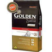 Ração Golden Gatos Adultos Carne - 10kg
