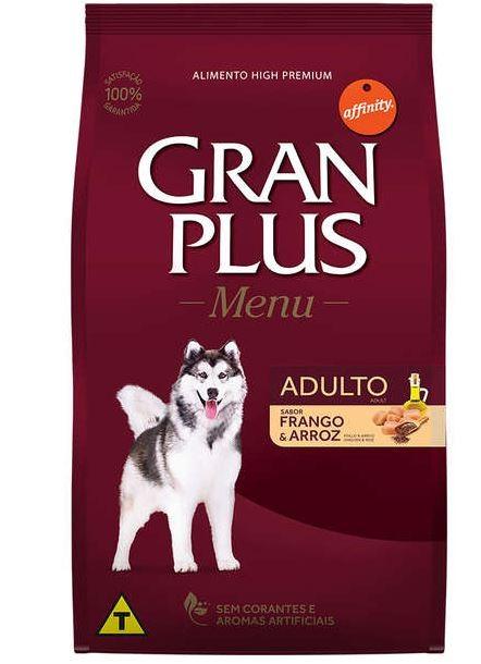 Ração Granplus Adulto sabor Frango e Arroz 15k