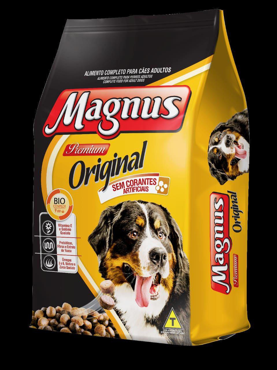 Ração Magnus Original para Cães Adultos 15k