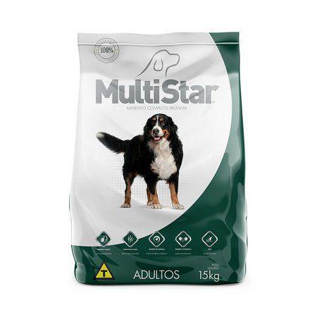Ração Multistar Cães Adulto 15 k