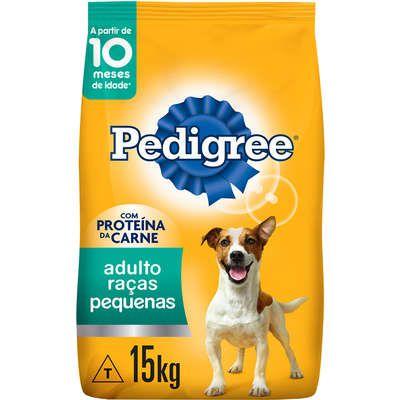Ração Pedigree para Cães Adultos Raças Pequenas 15k