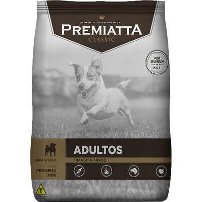 Ração Premiatta Classic Frango e Arroz para Cães Adultos Raça Mini e Pequena 15K