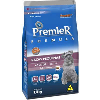 Ração Premier Formula Cães Adultos Raças Pequenas 1K