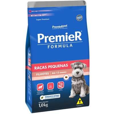 Ração Premier Formula Cães Raças Pequenas Filhotes 1K