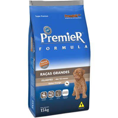 Ração Premier Fórmula Para Cães Filhotes  De Raças Grandes Sabor Frango 15 k