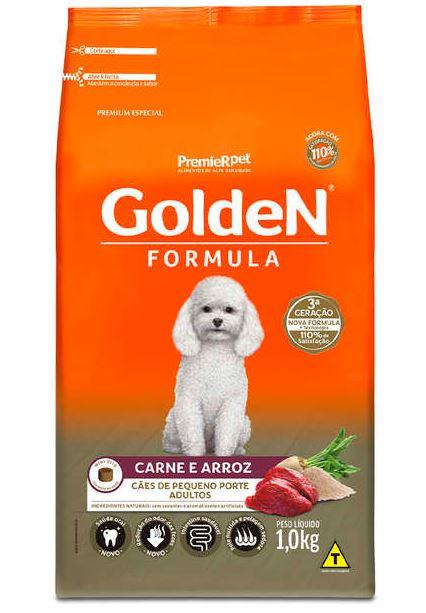 Ração Premier Golden Formula Cães Adultos carne e Arroz Mini Bits 1k